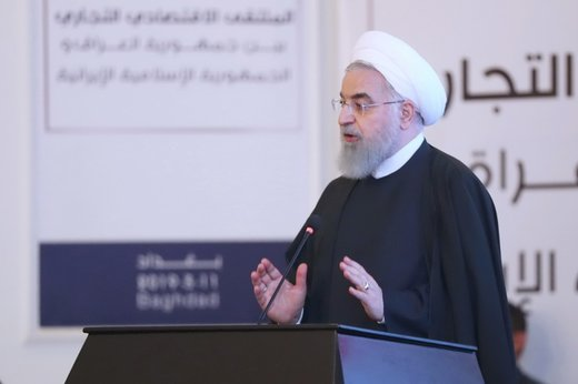 Iranian Pres. stresses unity of regional countries vis-à-vis superpowers