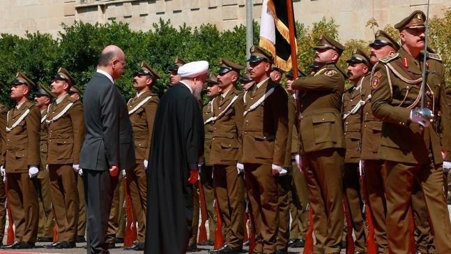 هلهله مردم عراق برای رئیس جمهور؛ اهلاوسهلا بالشیخ روحانی