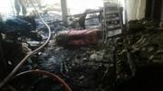 تصاویر | انفجار مرگبار یک خانه در خزانه بخارایی