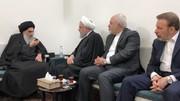 Iran president holds talks with senior Iraqi cleric
