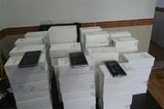 محموله ۷ میلیاردی تلفن همراه قاچاق در همدان کشف شد