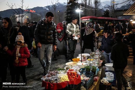 خرید شب عید در بازار تجریش