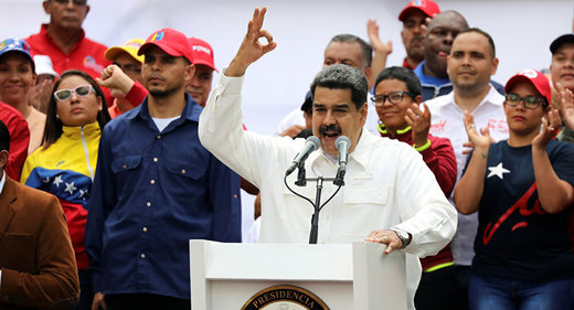 مادورو برای مذاکره با آمریکا اعلام آمادگی کرد