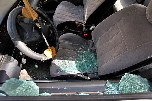 ۹۶ فقره سرقت لوازم داخل خودرو در کرج