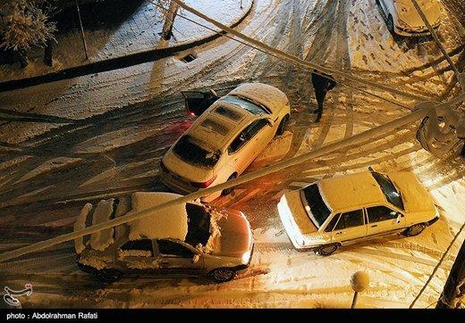 برف و باران در انتظار جادههای ۱۴ استان