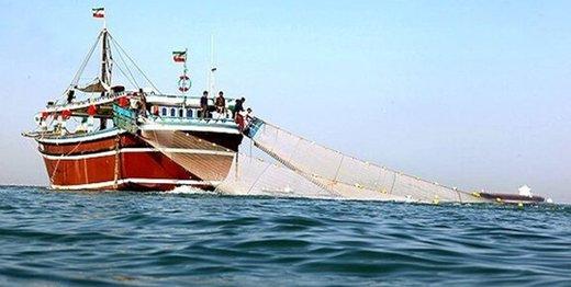 توقیف ۲ کشتی صید ترال در خلیج فارس توسط سپاه
