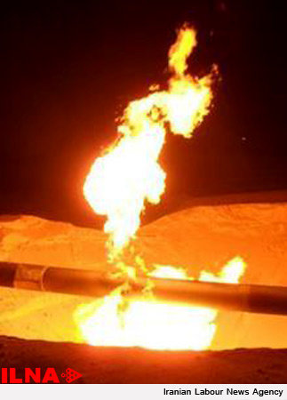 انفجار خط لوله انتقال گاز اهواز جان ۴ نفر را گرفت