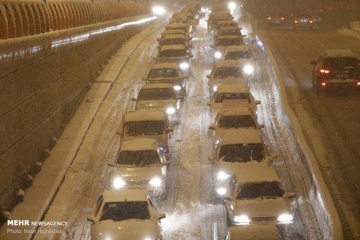 احتمال برفی شدن جاده چالوس از پنجشنبهشب