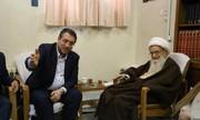 نتائج زيارة روحاني الي العراق بعثت علي السرور