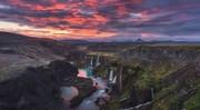عکس | غروب جادویی ایسلند در عکس روز نشنال جئوگرافیک