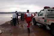 تیم دوچرخه سواری در حوض سلطان قم گرفتار شدند