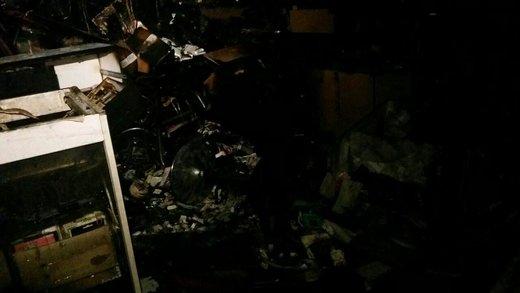 آتش سوزی در مجتمع تجاری در خیابان ولیعصر(عج)