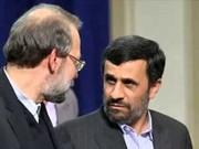 فیلم | لاریجانی: احمدینژاد با خودش مشکل دارد!