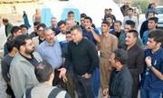 خانهسازی علی دایی در سومین روستای زلزله زده کرمانشاه/ عکس
