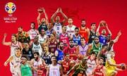 قرعهکشی جامجهانی بسکتبال برگزار شد؛ ایران مقابل پورتوریکو، تونس و اسپانیا