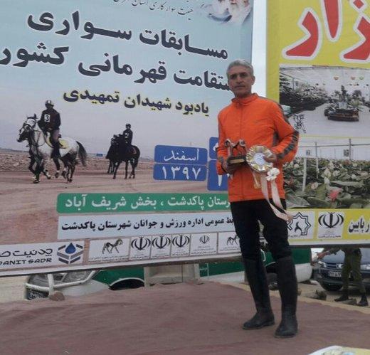 درخشش سوارکار لرستانی در مسابقات قهرمانی کشور