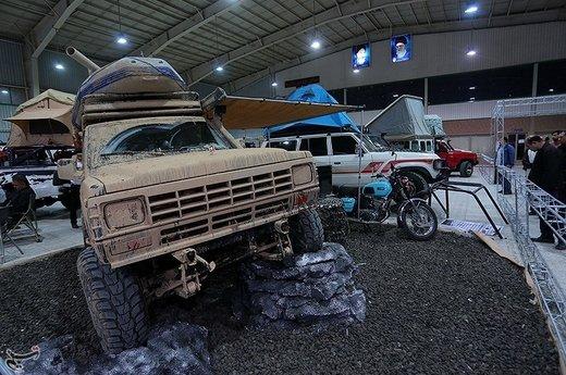 نمایشگاه خودروهای کلاسیک و مدرن در اصفهان