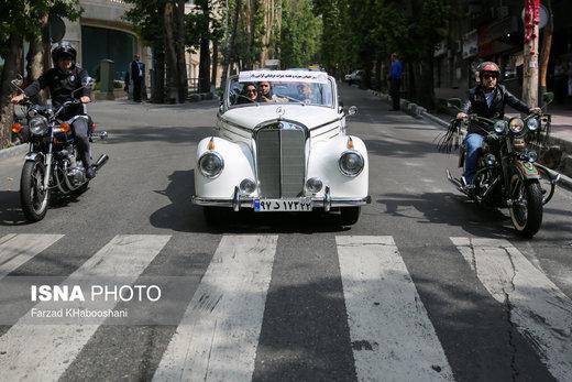 خودروهای تاریخی ۲۶ اسفند در تهران رژه میروند