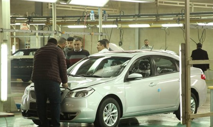 SAIPA resumes Syria production with H330 model