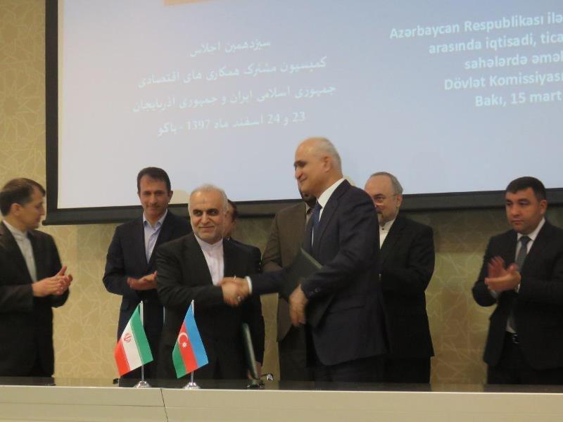 Tehran, Baku make vital decisions on economic issues