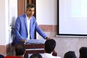 تصاویر | عادل فردوسیپور در جلسه دفاع دکترا