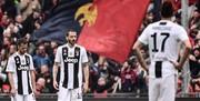 اولین شکست فصل یوونتوس مقابل جنوا