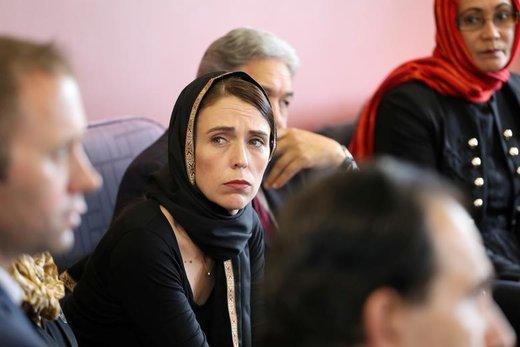 دیدار جاسیندا آردرن، نخست وزیر نیوزیلند، با نمایندگان جامعه مسلمان در مرکز پناهندگان کانتربری واقع در  کرایستچرچ