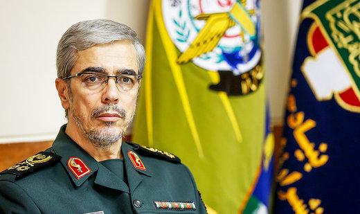 رئيس الاركان العامة الايرانية يتوجه الى سوريا