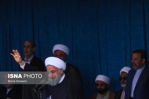 الرئيس روحاني: مستعدون لاقامة افضل العلاقات مع الجيران كعلاقاتنا مع العراق