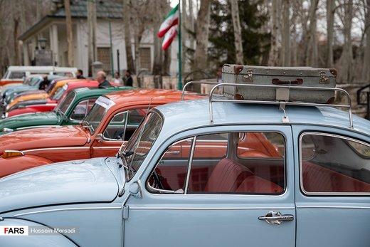 نمایش خودروهای تاریخی در کاخ سعدآباد