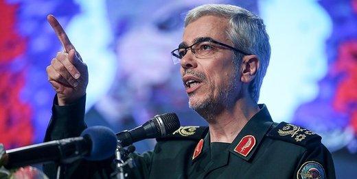 تاکید سردار باقری بر خروج نیروهای خارجی از سوریه در بدو ورود به دمشق