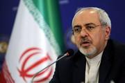 ظریف: ایرانیها هرگز اجازه نمیدهند دیگران درباره سرنوشتشان تصمیم بگیرند/ عکس