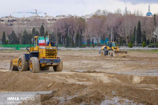 آمادهسازی زایندهرود برای جاری شدن آب