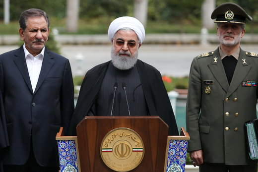 Iran president: Enemies not to achieve their ends