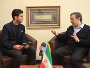 احمدینژاد: استقلالی هستم/ بازی پرسپولیس و السد به ورزشگاه میروم