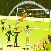 اون یه جادوگره، نه فوتبالیست!