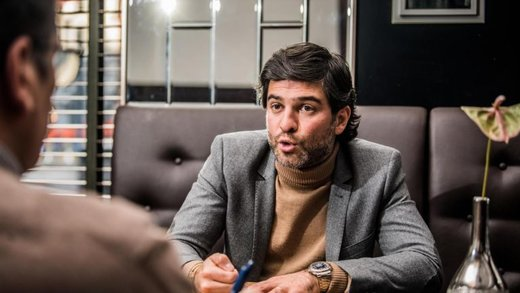 صدای مدیر ایرانی شارلوا بلژیک درآمد