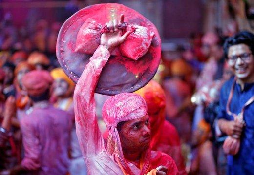 جشنواره رنگ هولی در هند