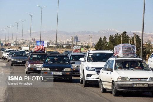 ترافیک در جادههای اصلی و پرتردد کشور/ ۸ جاده خیلی شلوغ هستند
