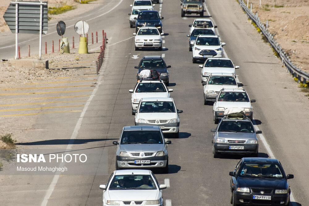 تصاویر   ترافیک جاده تهران-مشهد، ۲ روز مانده به پایان سال