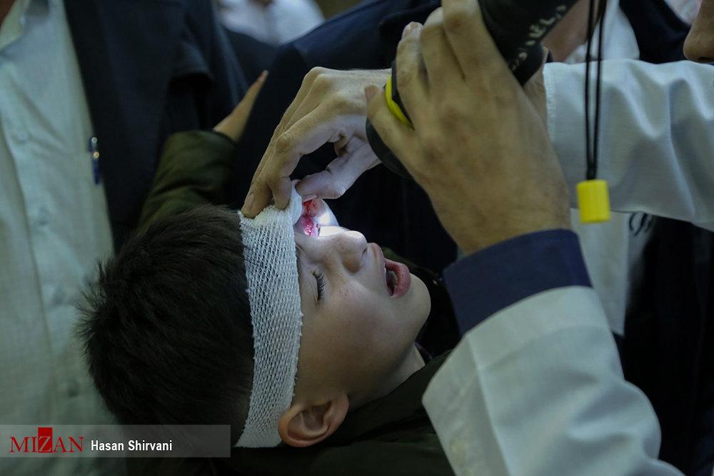 اولین تصاویر از مصدومان چهارشنبهسوری امسال