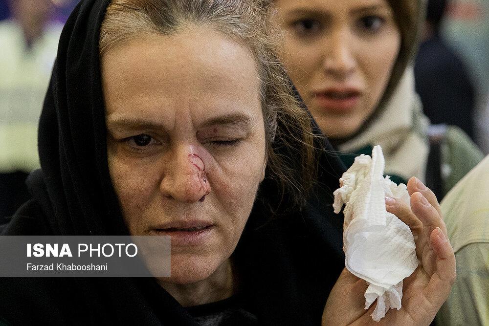 تصاویر   تهرانیهایی که چشمشان را فدای چهارشنبهسوری کردند