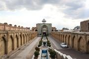 تصاویر | بزرگترین کاروانسرای سرپوشیده ایران در قزوین