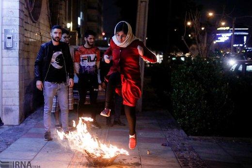 چهارشنبه سوری تهران