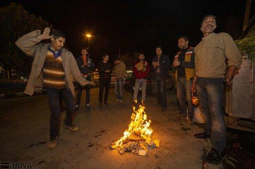 چهارشنبه سوری در شهرکرد