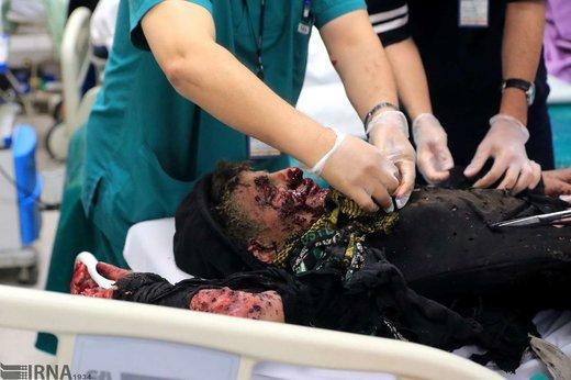 مصدومان چهارشنبه سوری در ارومیه