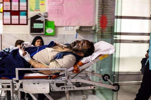 مصدومان چهارشنبه سوری در اصفهان