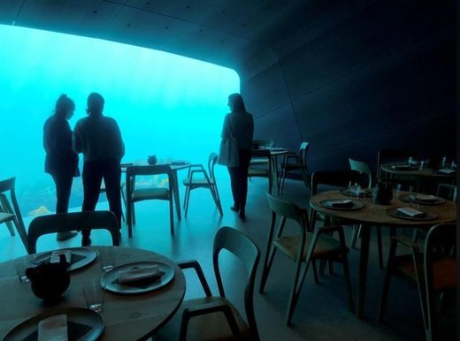 رستوران زیرآب در نروژ