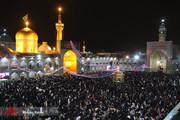 تصاویر | شب سال نو در حرم امام رضا (ع)