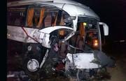 تصادف مرگبار پراید با اتوبوس